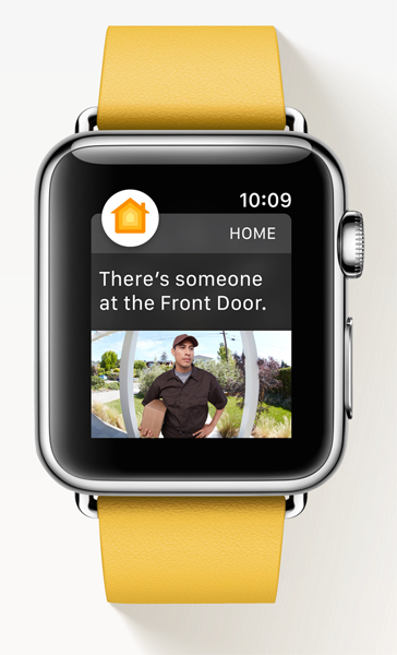Aplicación Apple Watch Hombre
