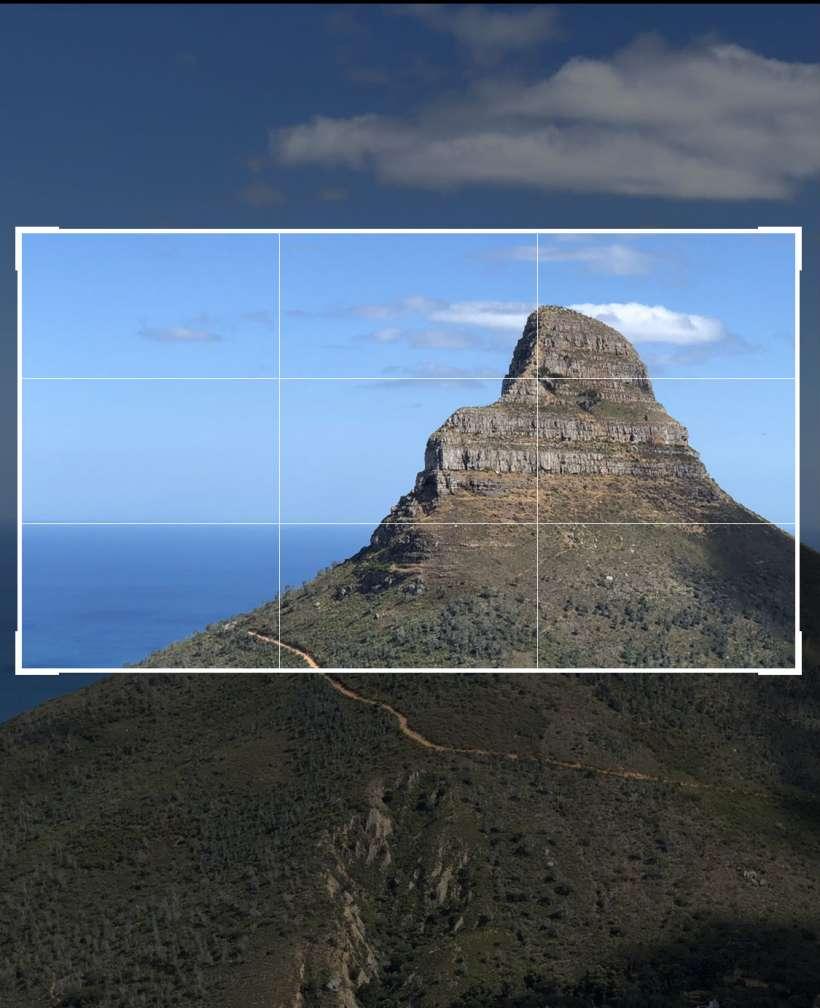 Cómo cambiar la relación de aspecto de las fotos en el iPhone y el iPad.