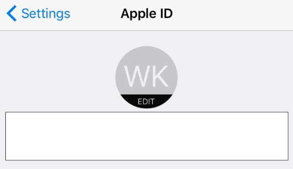 Configuración del identificador de Apple