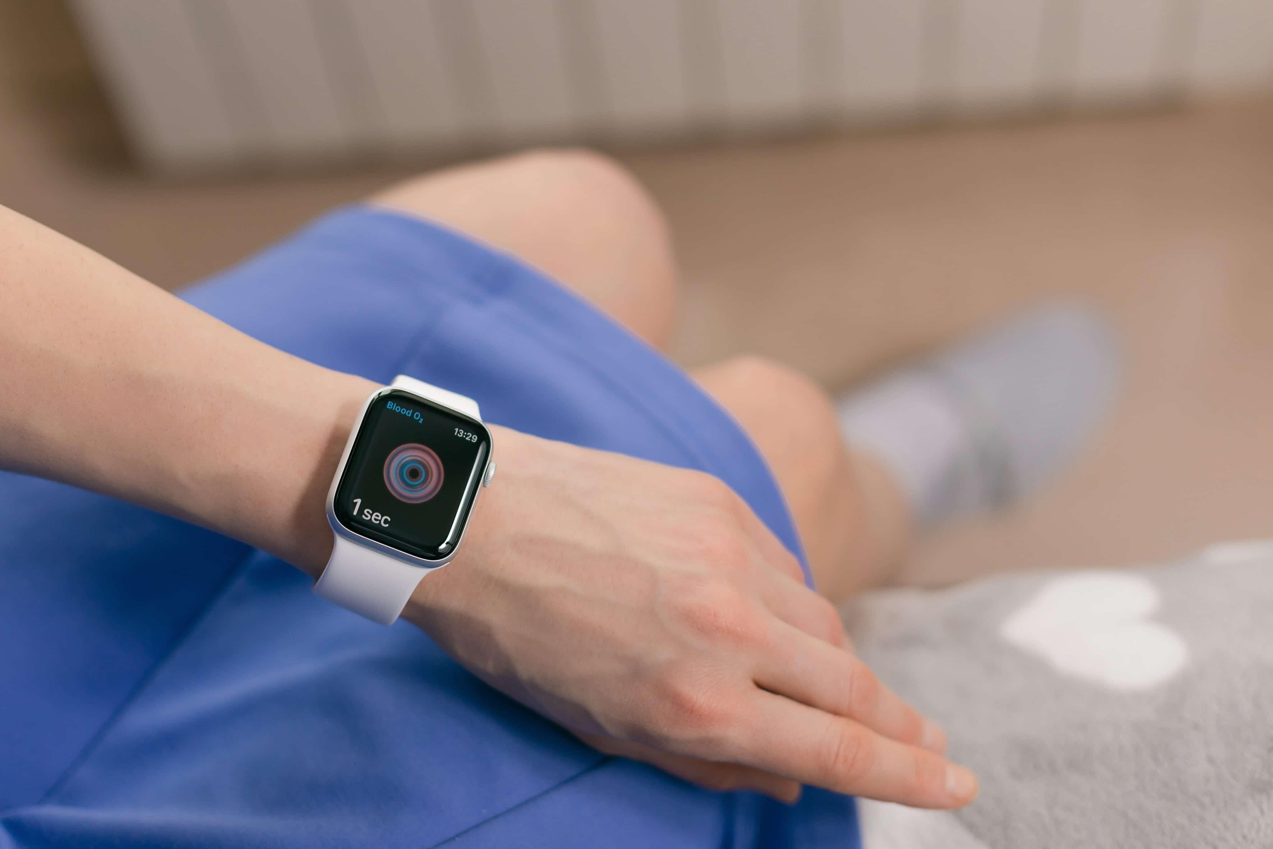 Medir el oxígeno en sangre con el Apple Watch