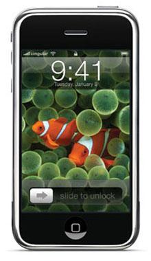 iPhone 09:41 pez payaso