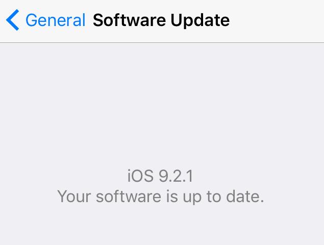 iPhone 4s iOS 9.3