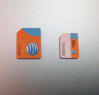 iPhone sim dual dual