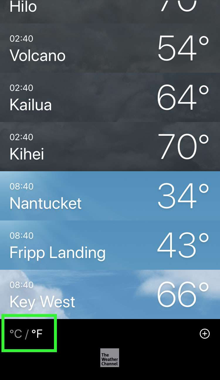 Unidades de temperatura meteorológica 2