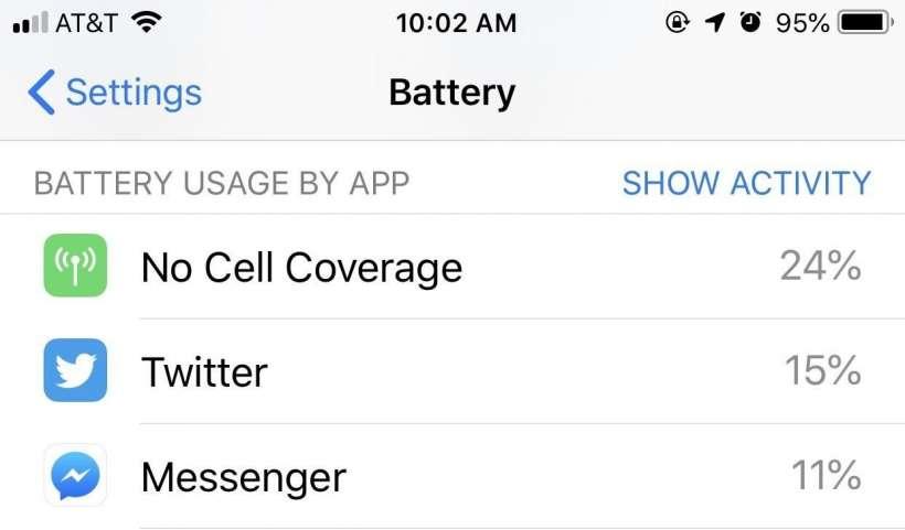 Sin cobertura celular