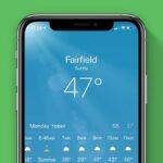 Cómo consultar el pronóstico del tiempo en tu iPhone