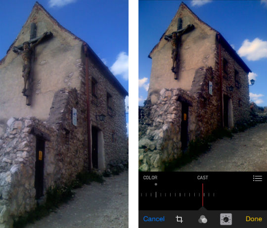 Como editar fotos en iOS 8