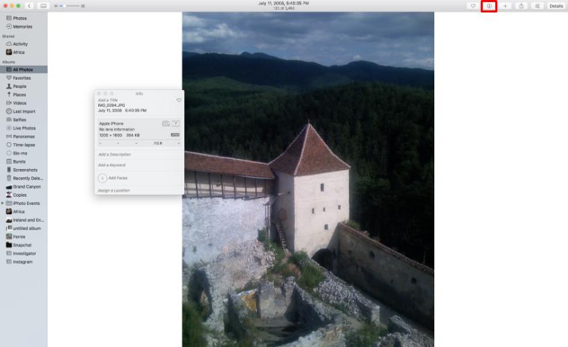 Como geoetiquetar fotos en el iPhone y el iPad.