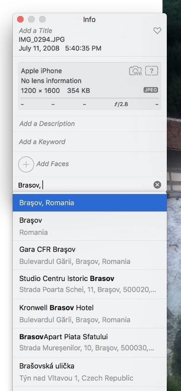 Cómo añadir o editar datos GPS a las fotos del iPhone y el iPad.