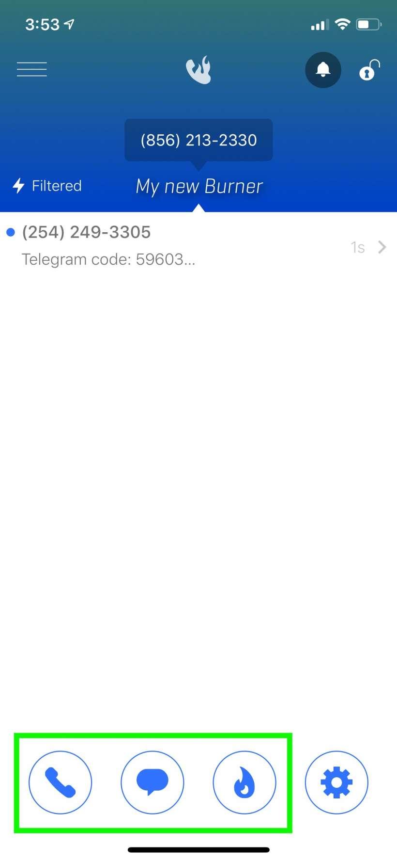 Cómo obtener un número de teléfono falso para su iPhone.