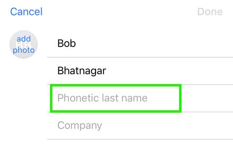 Apellido fonético Siri