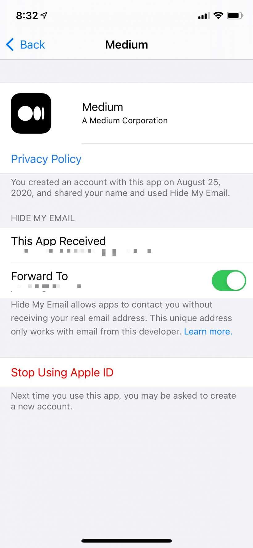 Cómo ver y gestionar qué aplicaciones utilizan el ID de Apple en el iPhone y el iPad.