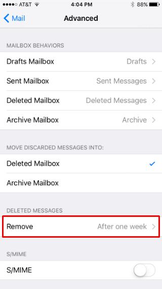Gestión del almacenamiento de iCloud en el iPhone.