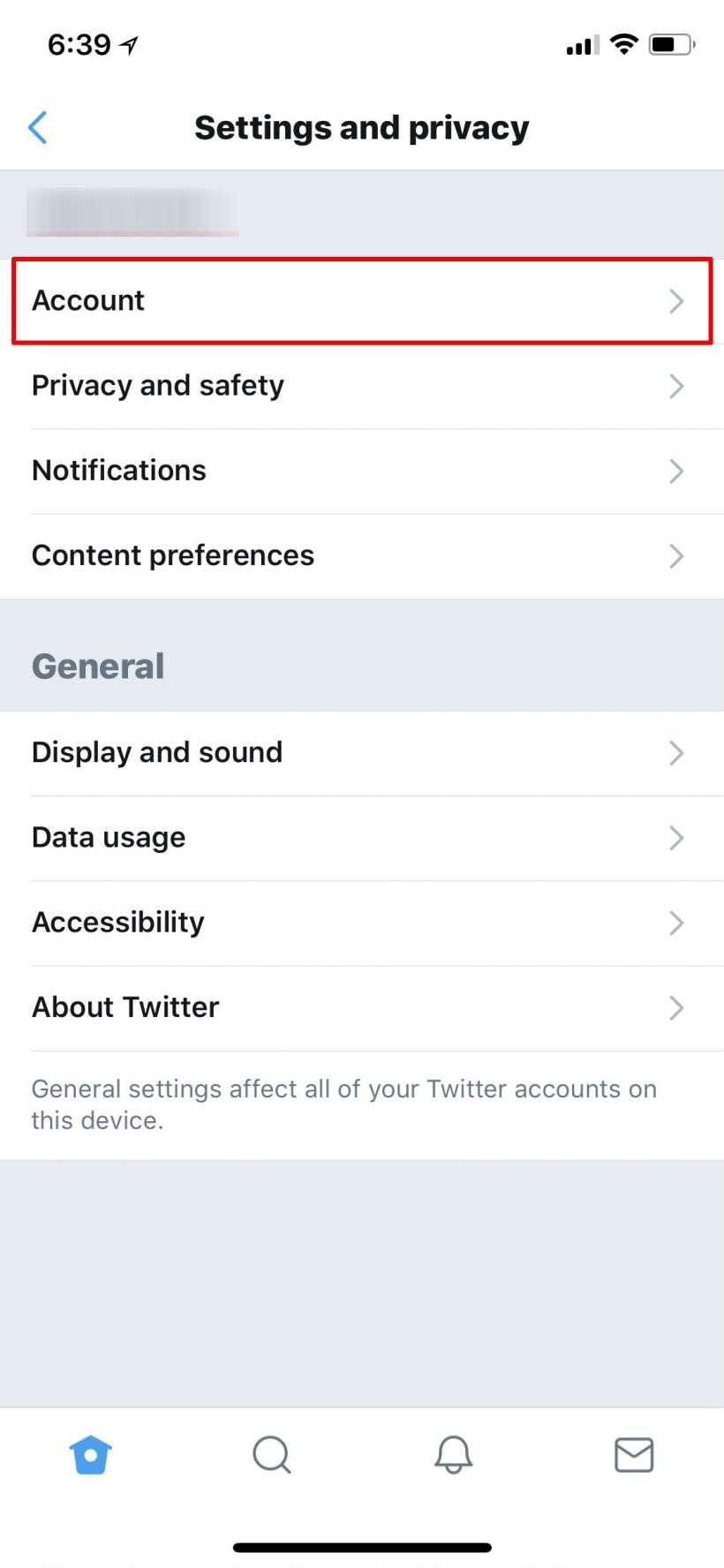 Cómo cambiar la contraseña de Twitter y activar la autenticación de dos factores 2FA el iPhone y el iPad.