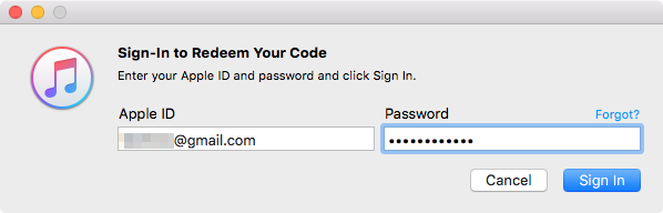 Accede Apple ID