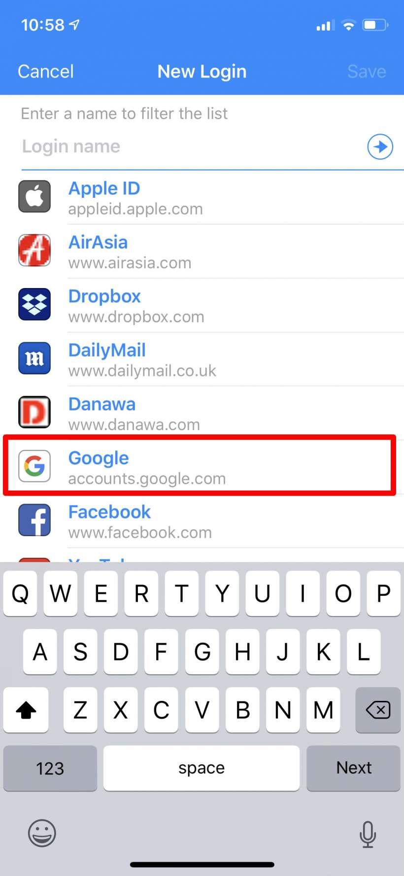 Cómo utilizar el gestor de contraseñas 1Password iPhone, iPad y Mac.