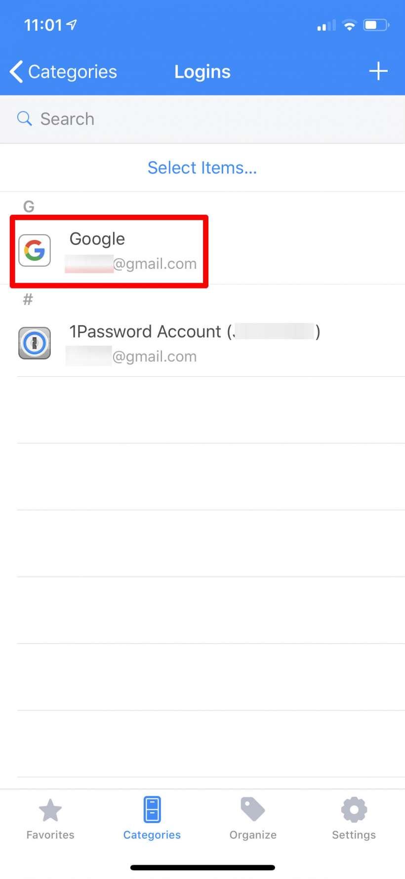 Cómo empezar a utilizar 1Password para gestionar sus inicios de sesión y contraseñas iPhone, iPad y Mac.