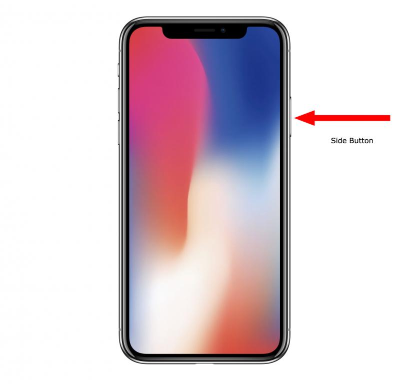 Cómo forzar a reiniciar el iPhone X.