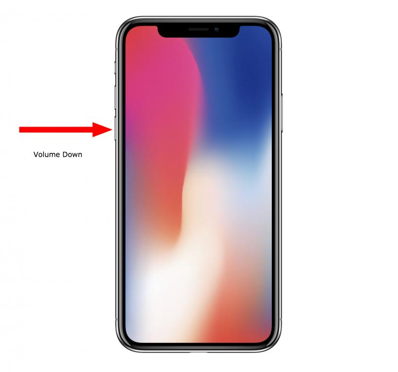 Cómo forzar a reiniciar el iPhone X cuando esté bloqueado.