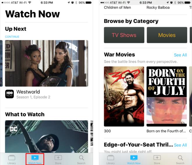 Cómo puedo conectar aplicaciones multimedia en la aplicación iOS TV?
