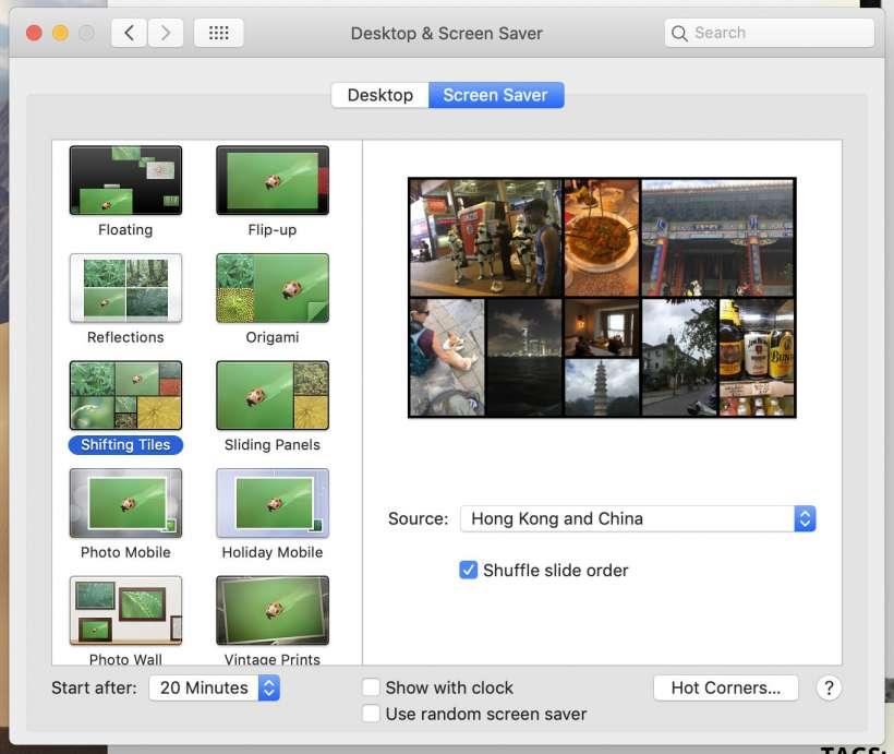 Cómo se utilizan los álbumes de fotos del iPhone como salvapantallas y fondos de pantalla en Mac