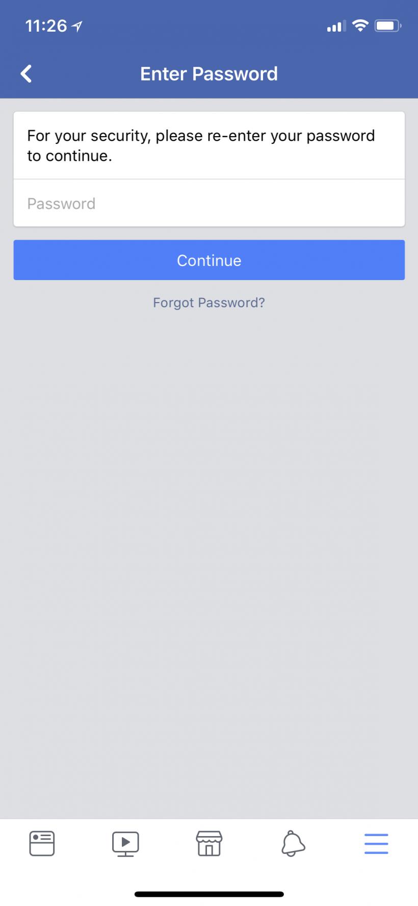 Como se activa la autenticación de dos factores 2FA en Facebook en el iPhone y el iPad.
