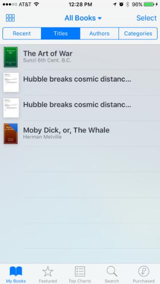 Cómo utilizar iBooks en el iPhone.