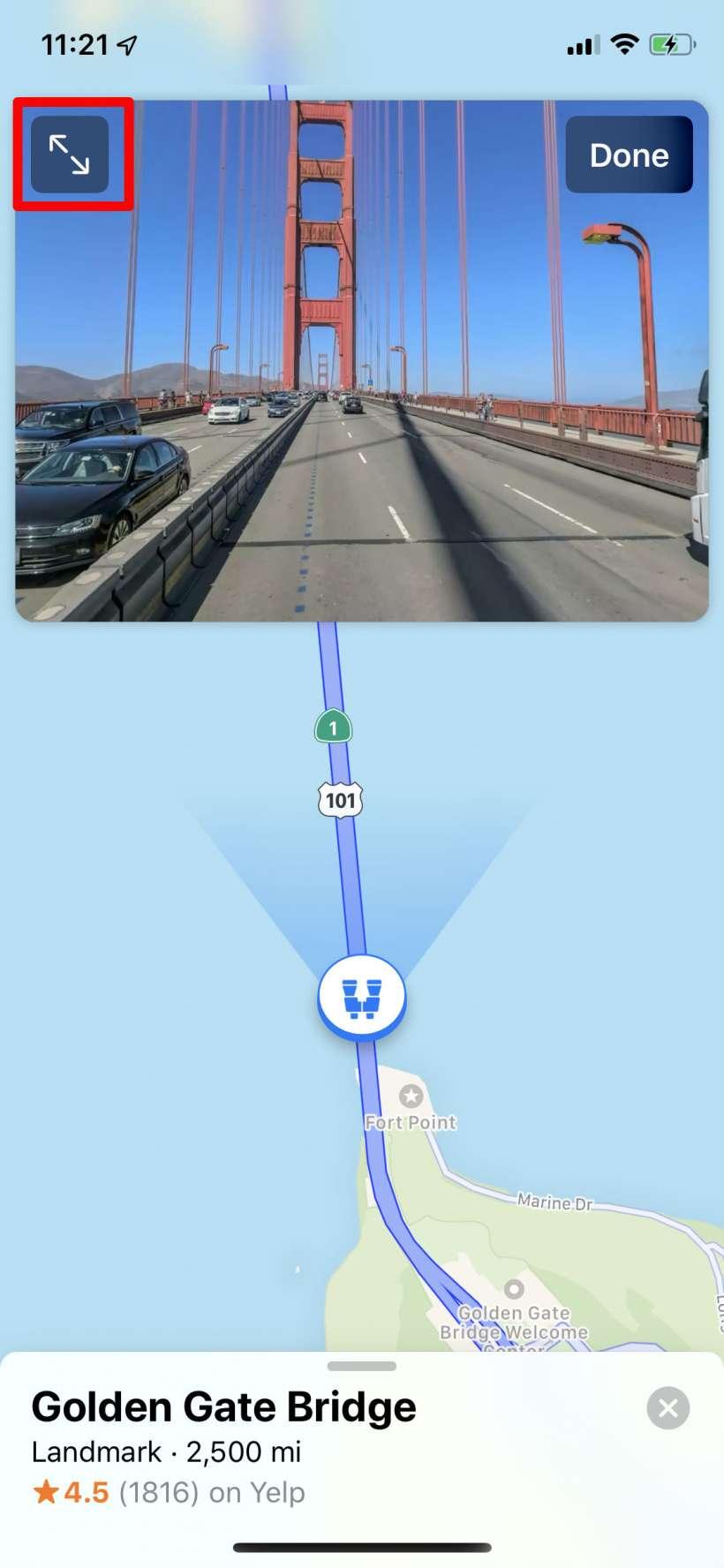 Como se utiliza Look Around a Apple Maps en el iPhone y el iPad.