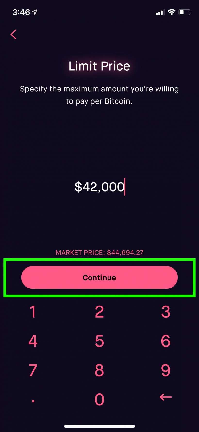 Como comprar Bitcoin desde su iPhone o iPad con Robinhood.