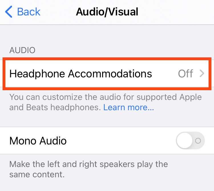Audio de auriculares personalizado 3