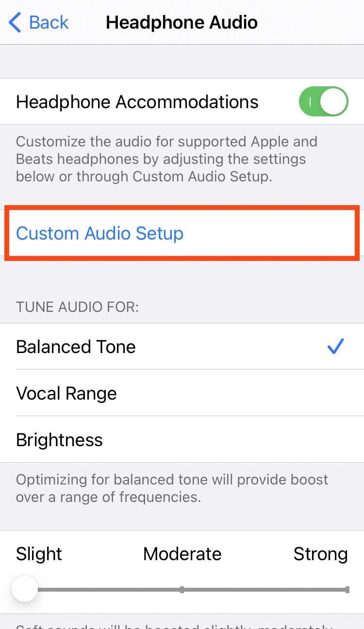 Audio para auriculares personalizado 5