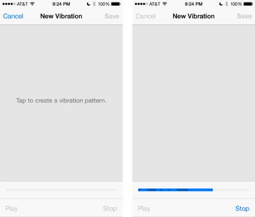 Cómo hacer vibraciones personalizadas para sus contactos a iOS 8