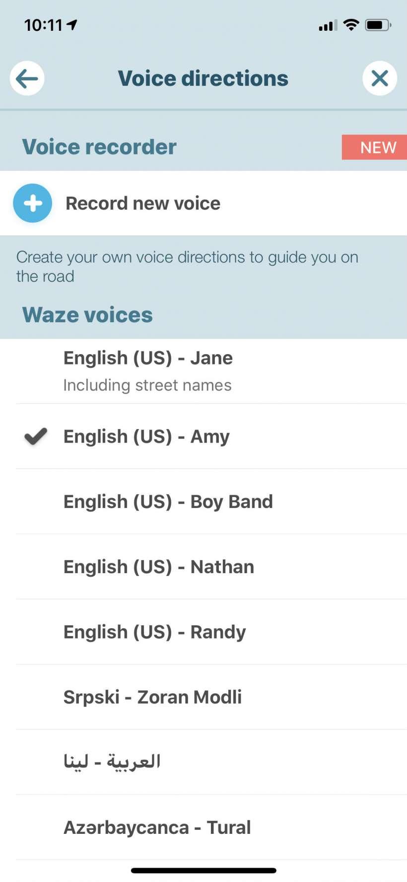 Cómo evitar que Waze hable tanto al iPhone.