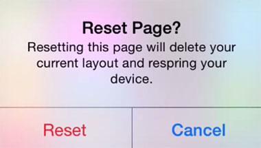 Iconos de anclaje de iOS 8