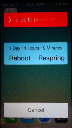 REpower ajusta los deslizadores del iPhone sin jailbreak