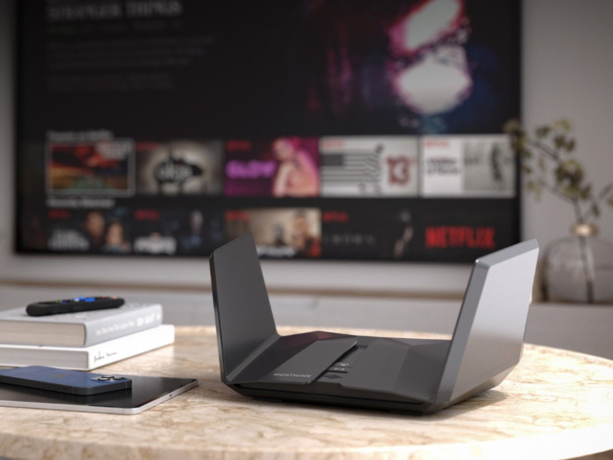 Enrutador Wi-Fi Netgear 6E RAXE500