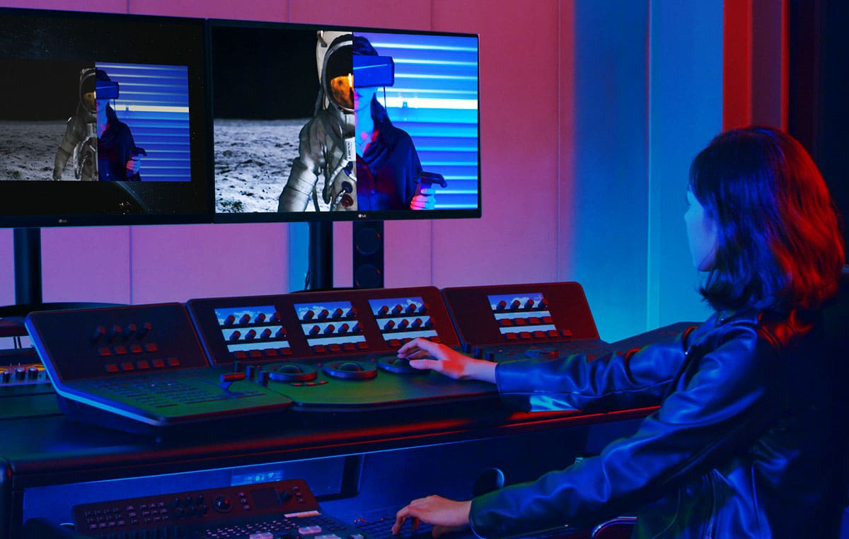 Monitor OLED Pro Ultrafino 4K de LG