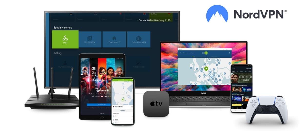 NordVPN en varios dispositivos