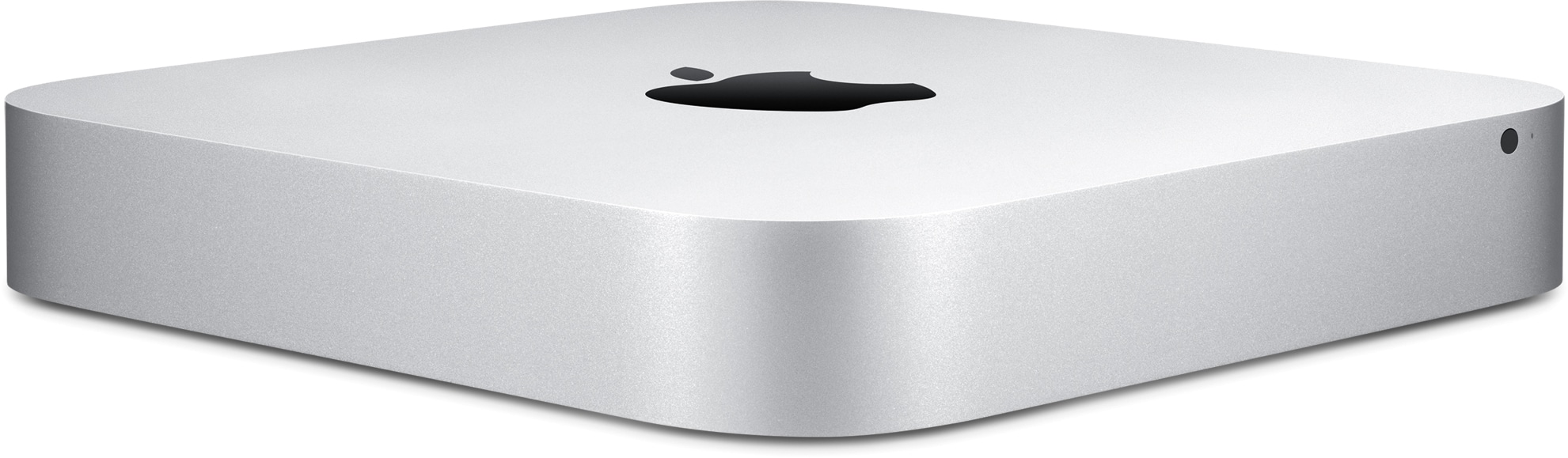 Nuevo Mac mini frontal y lateral