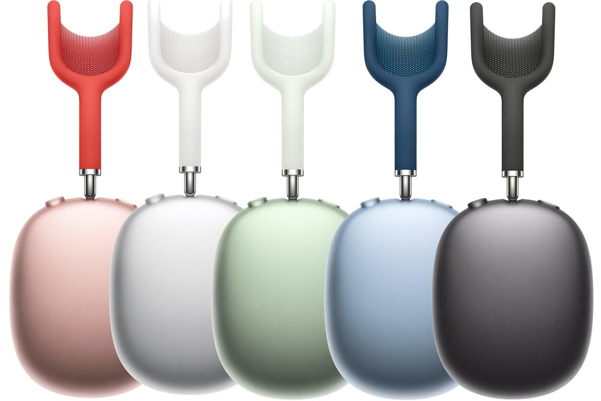 Colores de AirPods Max