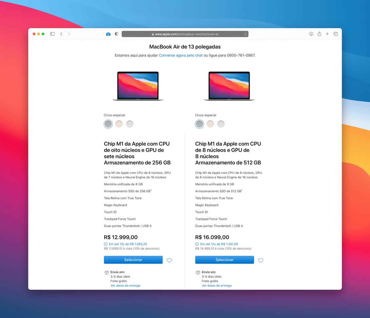 Apple Store en línea