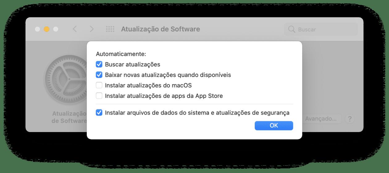 actualización de macOS