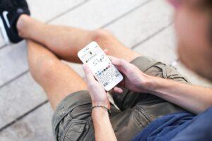 Como se envía un texto escrito a mano en Mensajes en el iPhone y el iPad