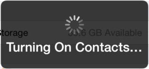 Cómo restaurar los contactos de iCloud en el iPhone