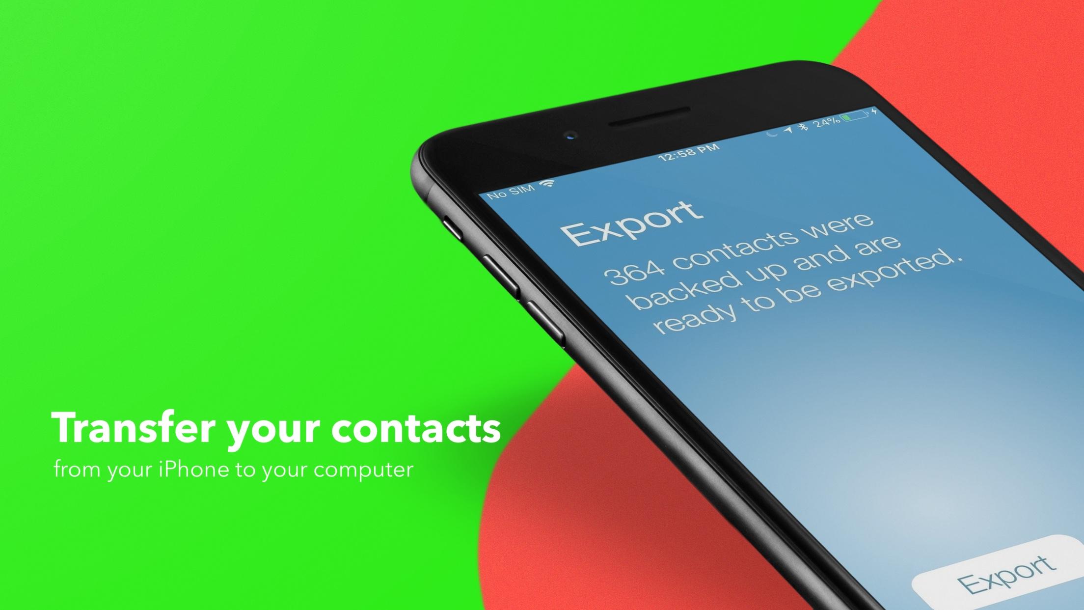 Cómo hacer una copia de seguridad de los contactos del iPhone