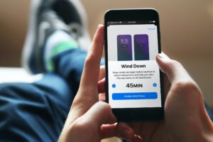 Como relajarse antes de dormir con Wind Down para dormir con el iPhone