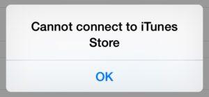 No puede conectarse a iTunes con la App Store?  Pruebe estos pasos de resolución de problemas