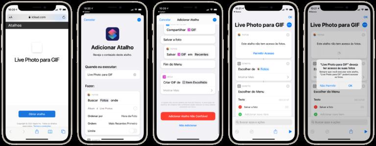 Cómo convertir Live Photos en GIF usando atajos [iPhone e iPad] - MacMagazine