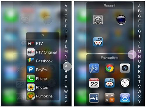 InstaLauncher retoca Cydia iOS