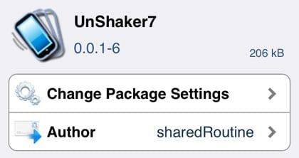 Tweak jailbreak de desbloqueo de iOS 7
